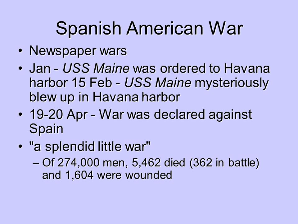 Spanish American War Newspaper wars