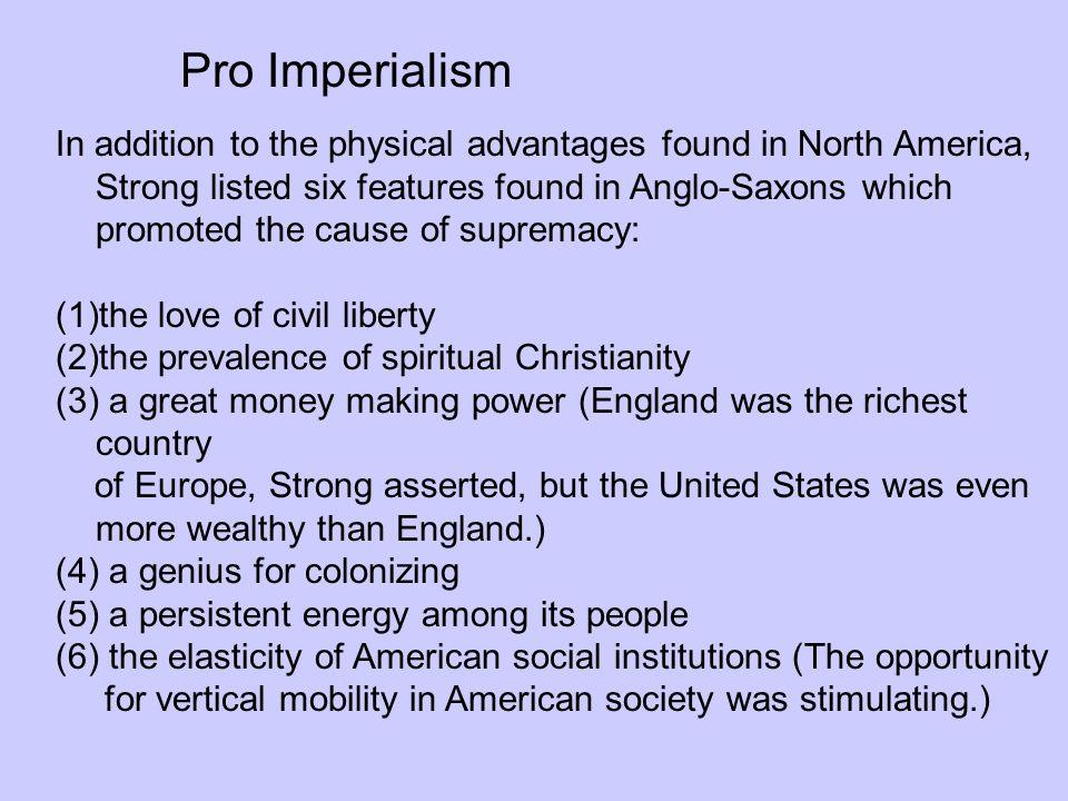 Pro Imperialism