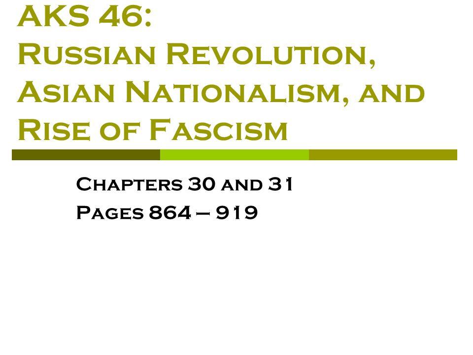 russian revolution nationalism