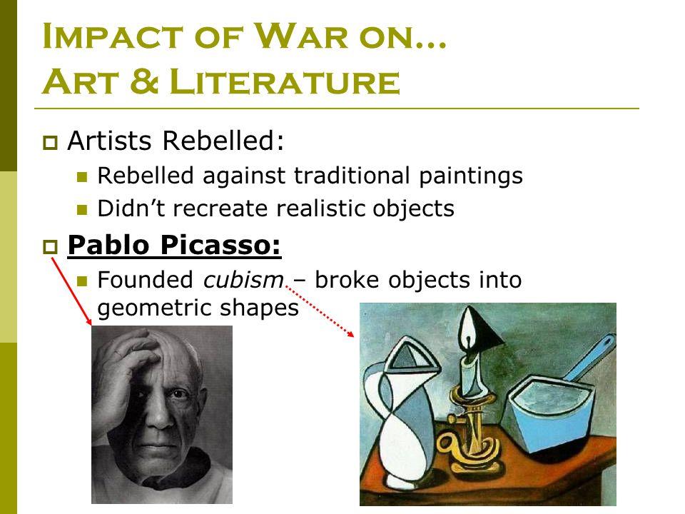 Impact of War on… Art & Literature