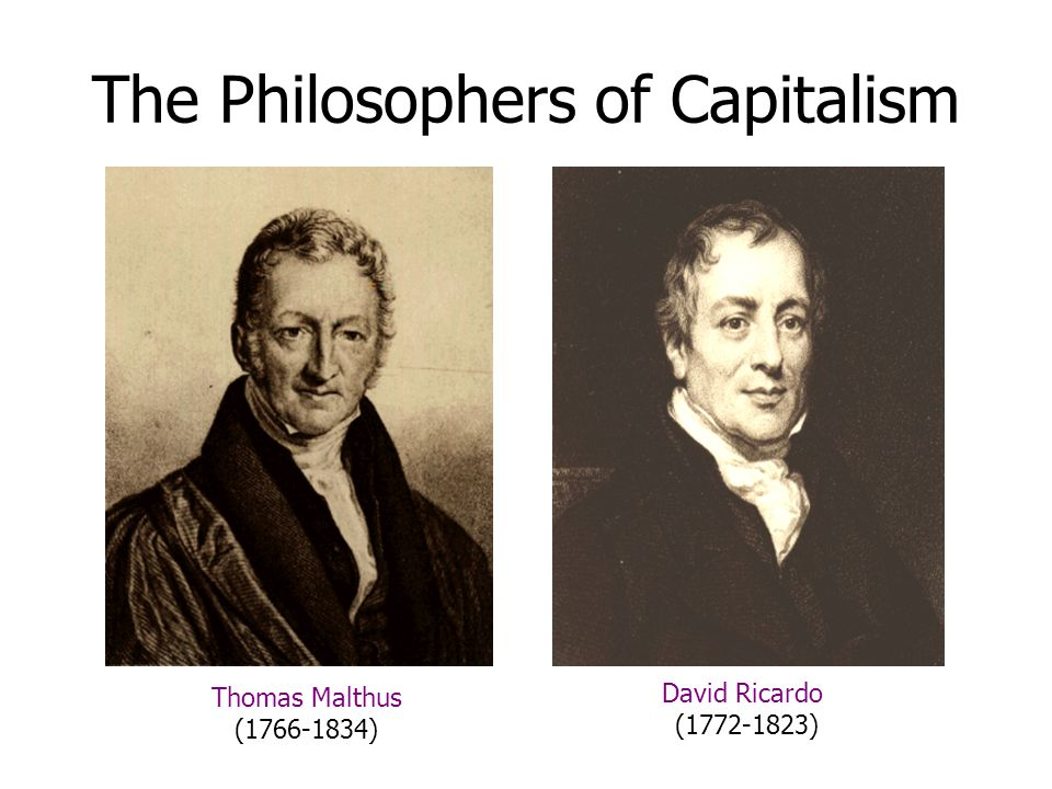 The Philosophers of Capitalism