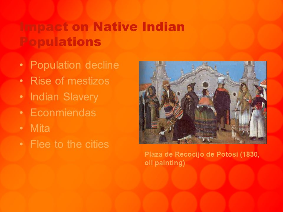 Impact on Native Indian Populations