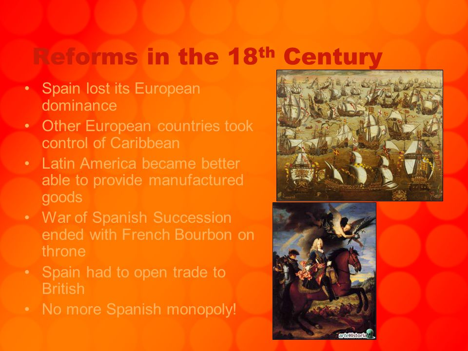 Reforms in the 18th Century