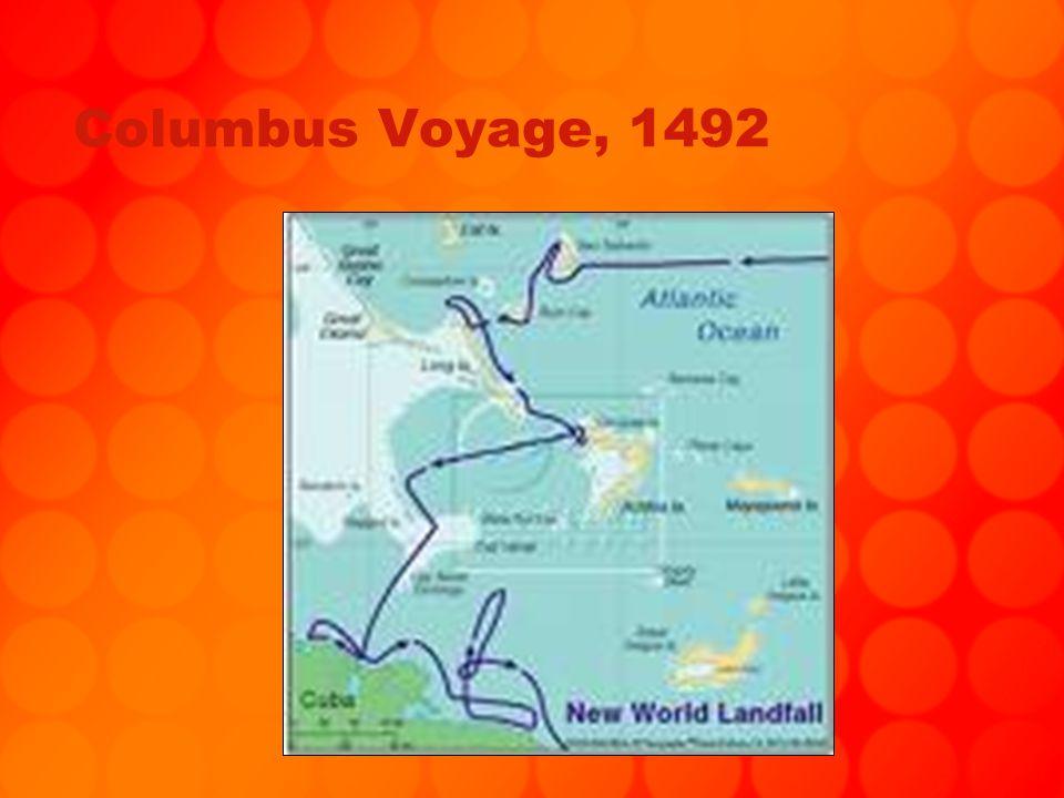 Columbus Voyage, 1492
