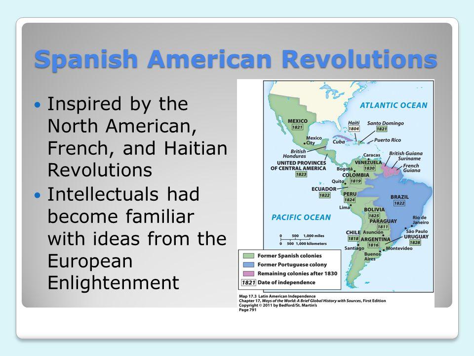 Spanish American Revolutions