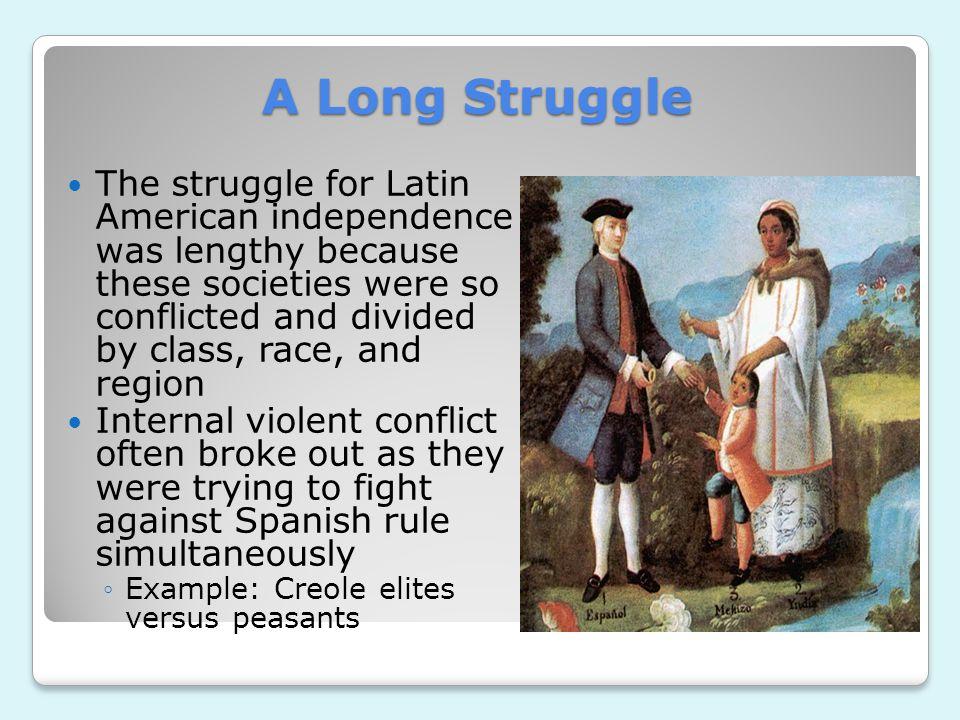 A Long Struggle