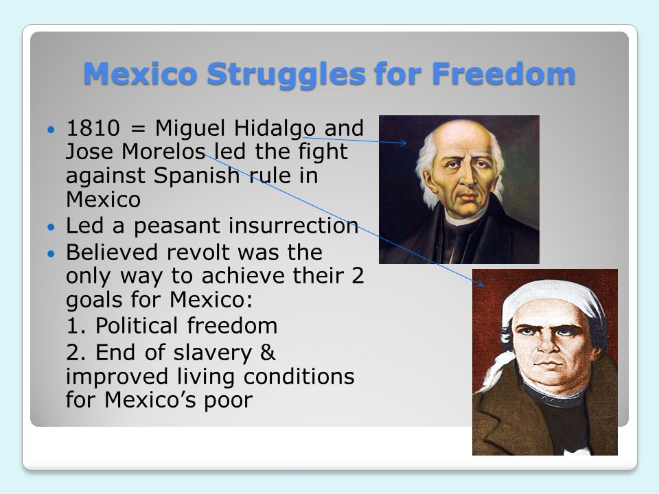 Mexico Struggles for Freedom