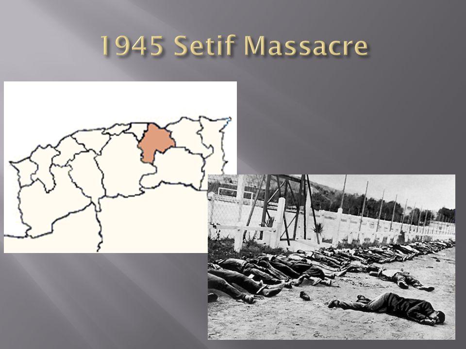 1945 Setif Massacre