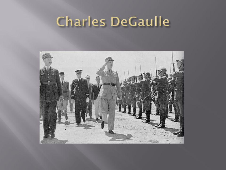 Charles DeGaulle