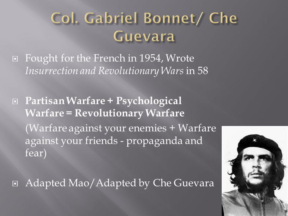 Col. Gabriel Bonnet/ Che Guevara