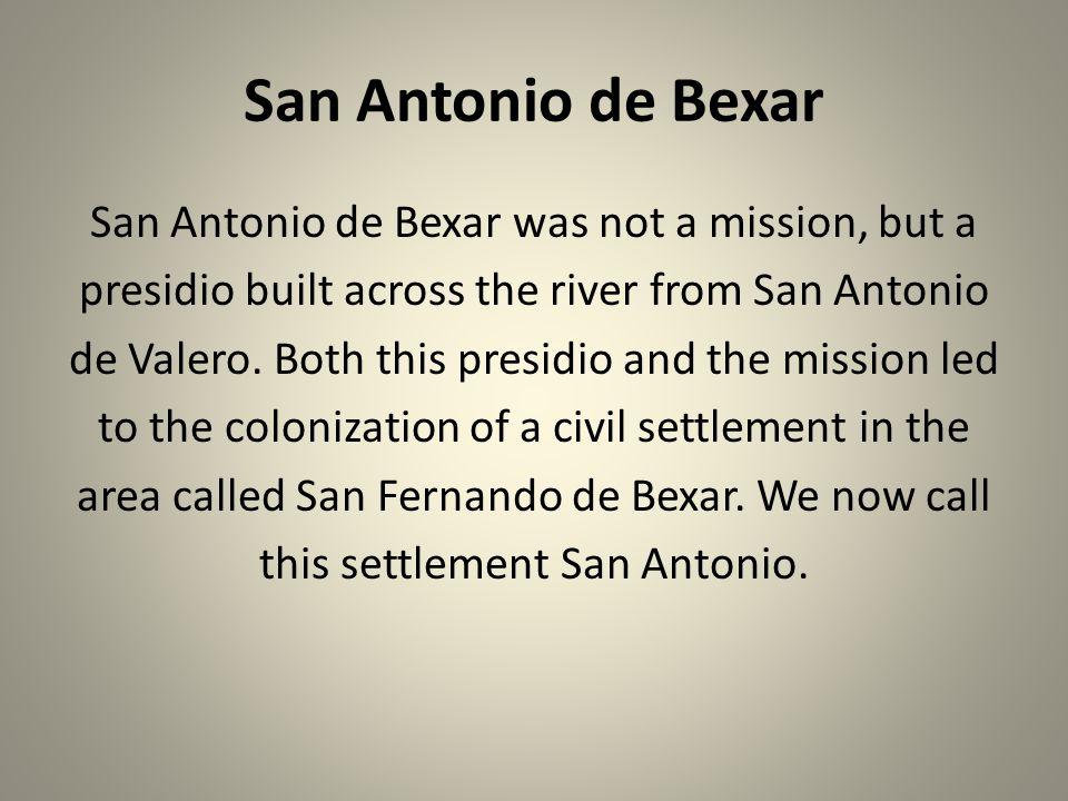 San Antonio de Bexar
