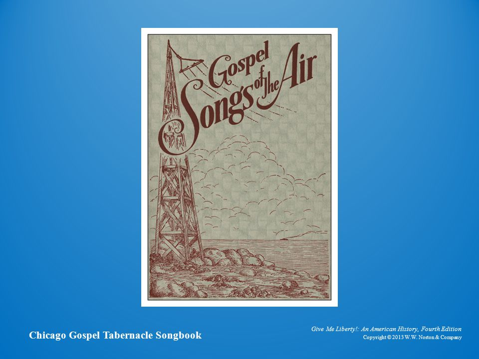 Songbook Chicago Gospel Tabernacle Songbook