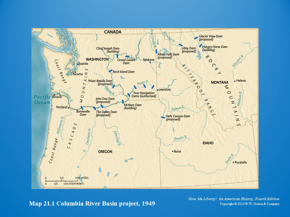 Colombia River Basin Project