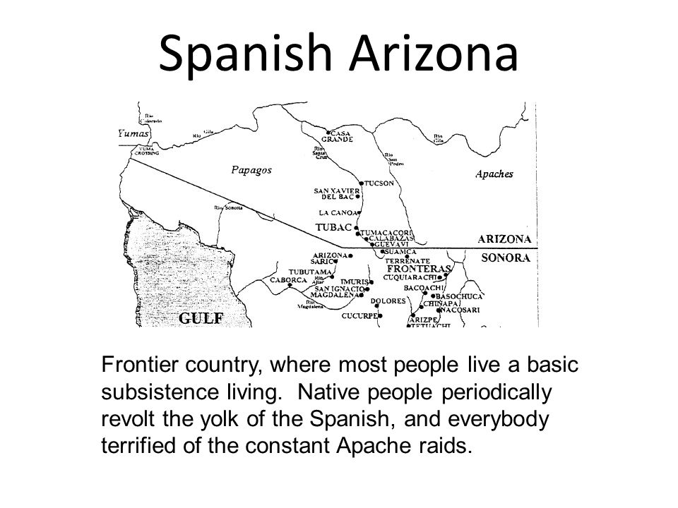 Spanish Arizona