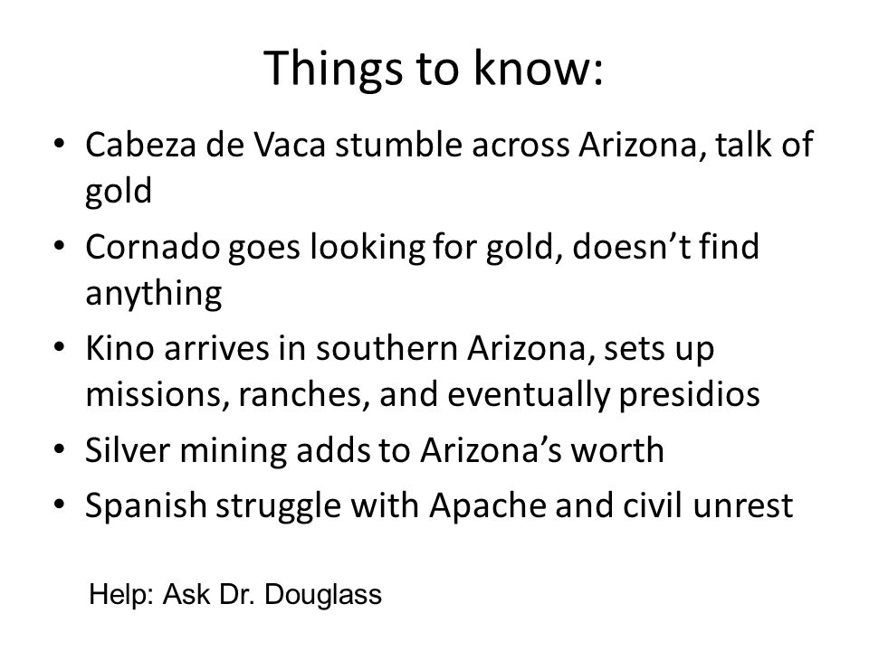 Things to know: Cabeza de Vaca stumble across Arizona, talk of gold