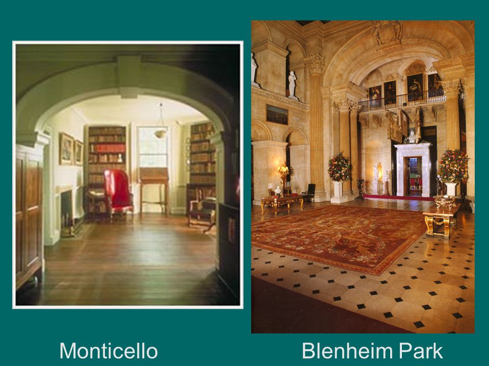 Monticello Blenheim Park