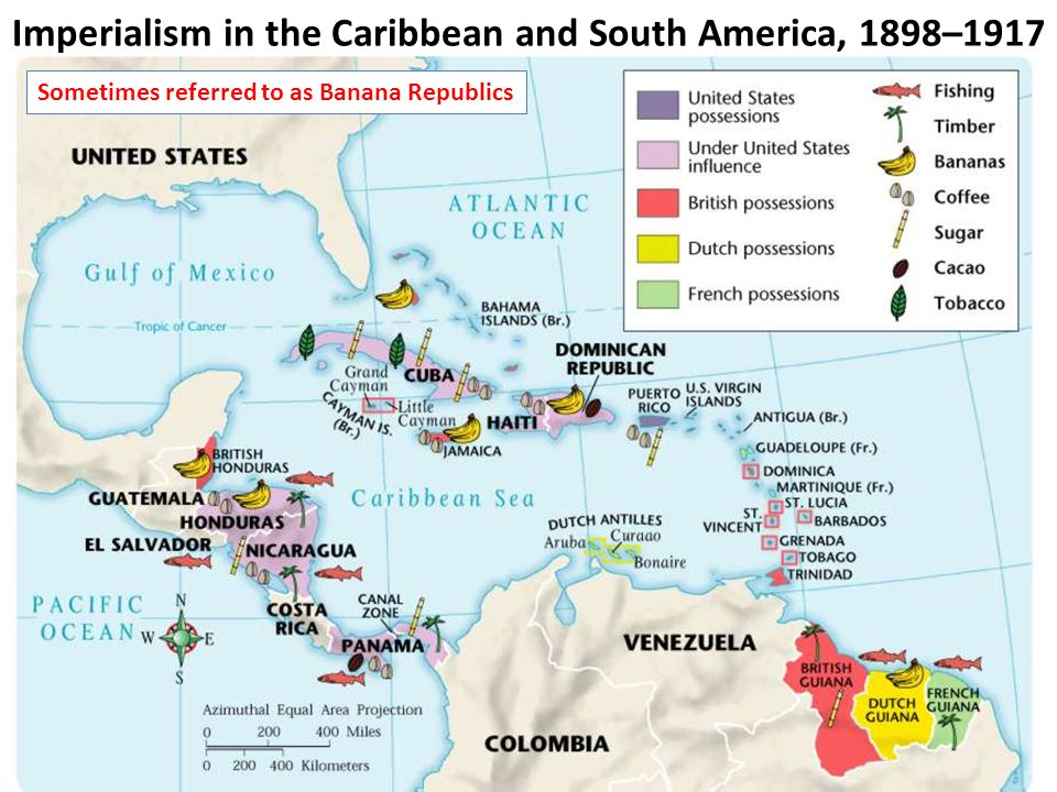 Imperialism in the Caribbean and South America, 1898–1917