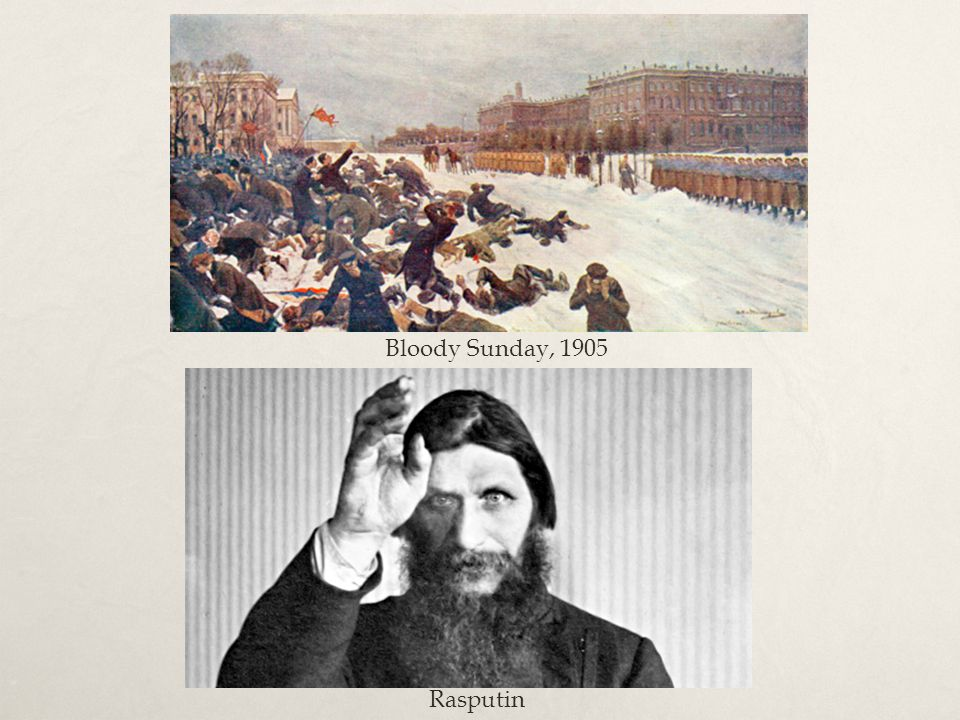 Bloody Sunday, 1905 Rasputin