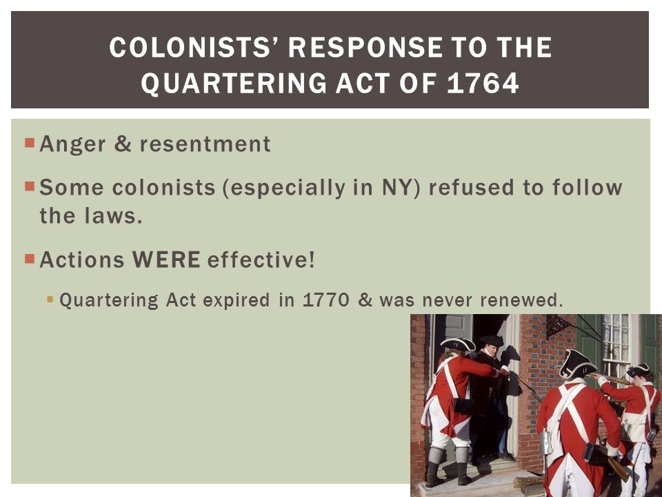 The Quartering Act of 1765: Facts, Summary, and Significance