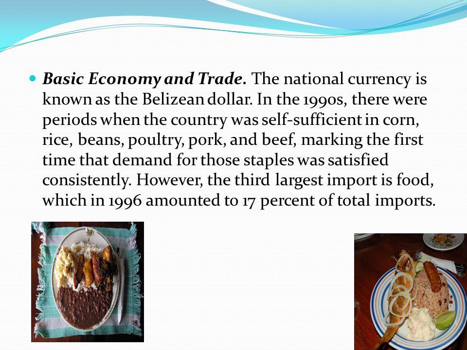 Basic Economy and Trade