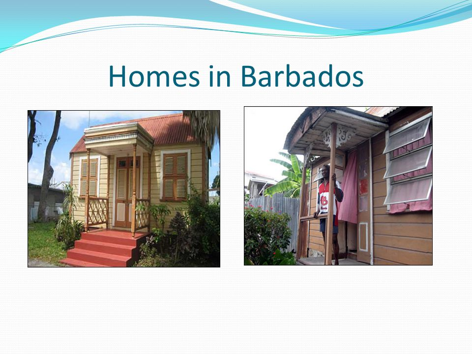 Homes in Barbados