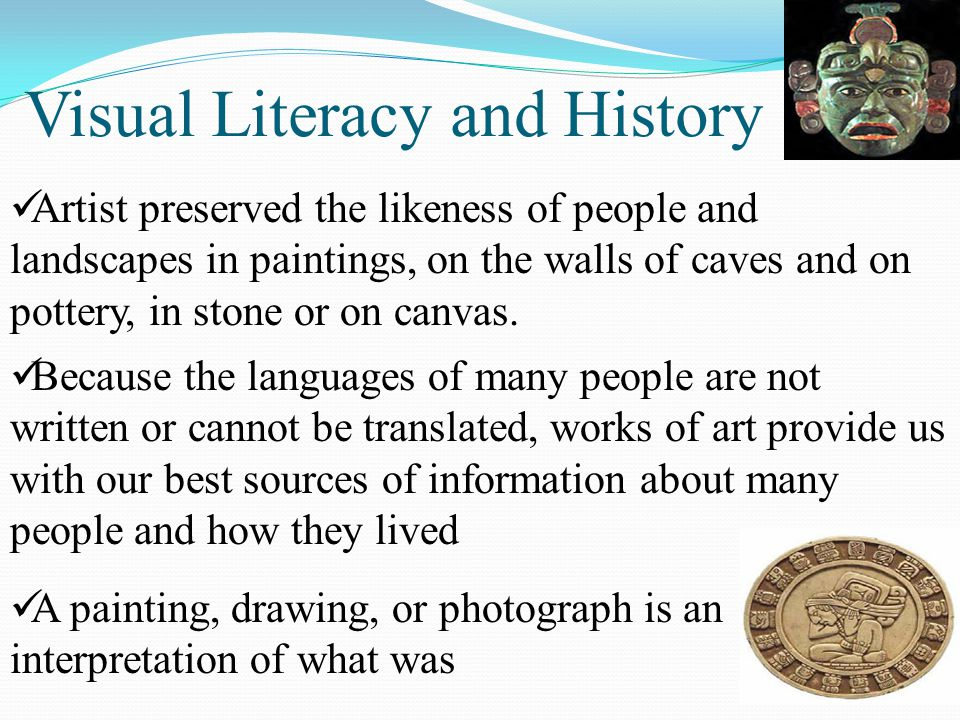 Visual Literacy and History