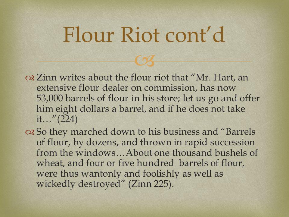 Flour Riot cont'd