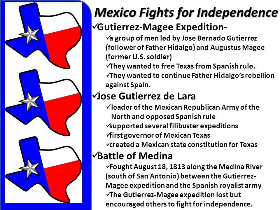 Mexico Fights for Independence