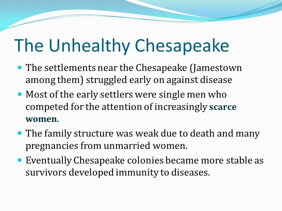 The Unhealthy Chesapeake