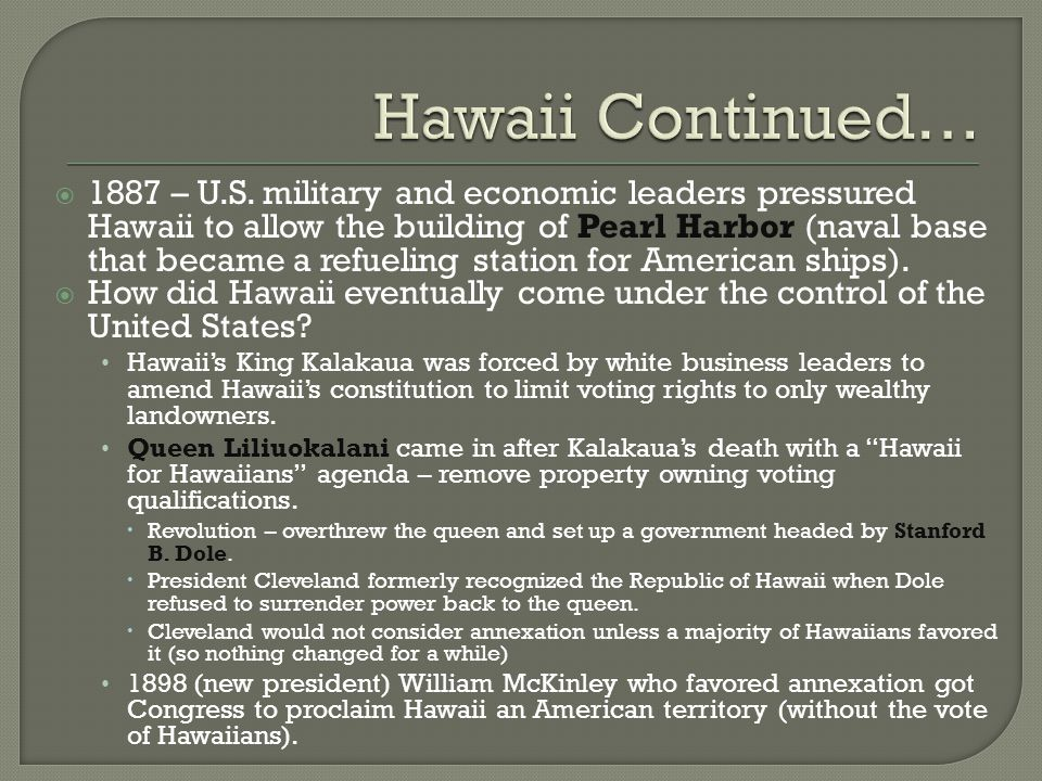 Hawaii Continued…