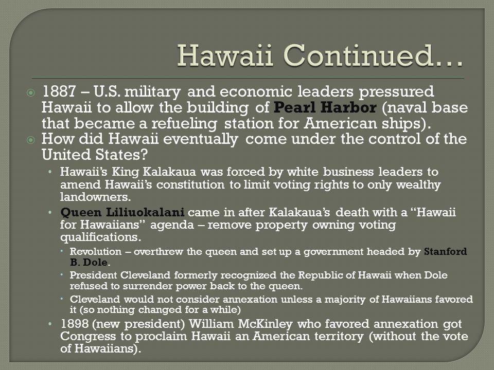 Hawaii Continued…
