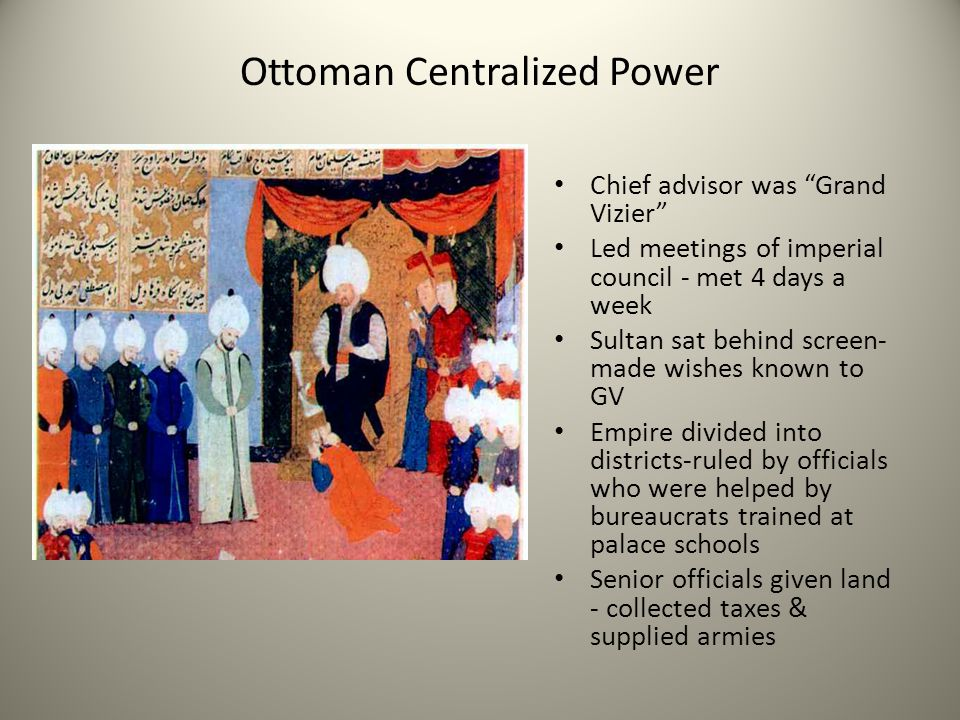 Ottoman Centralized Power