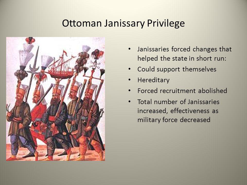Ottoman Janissary Privilege