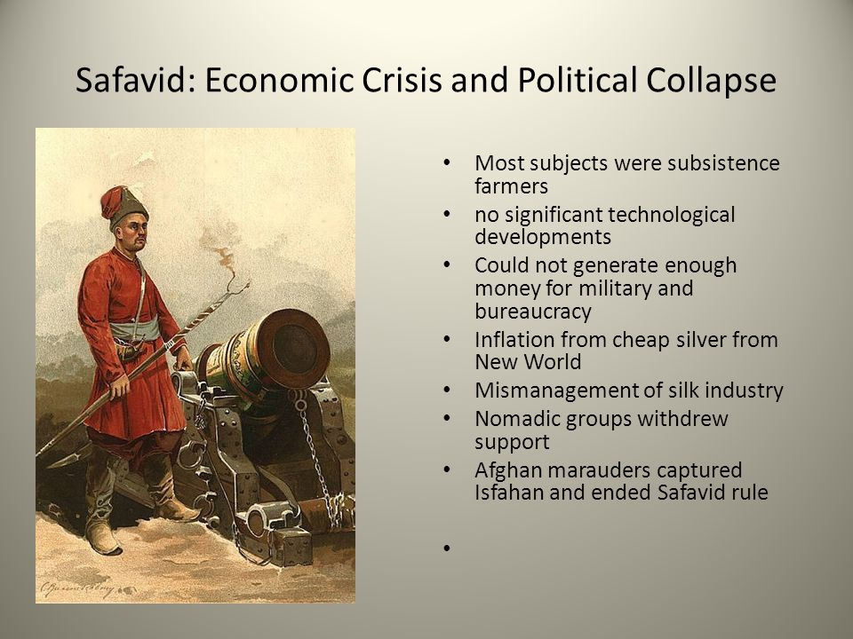 Safavid: Economic Crisis and Political Collapse
