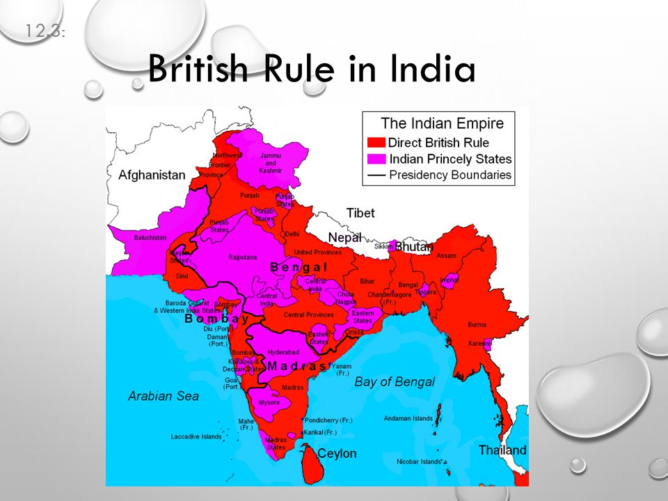 12.3: British Rule in India