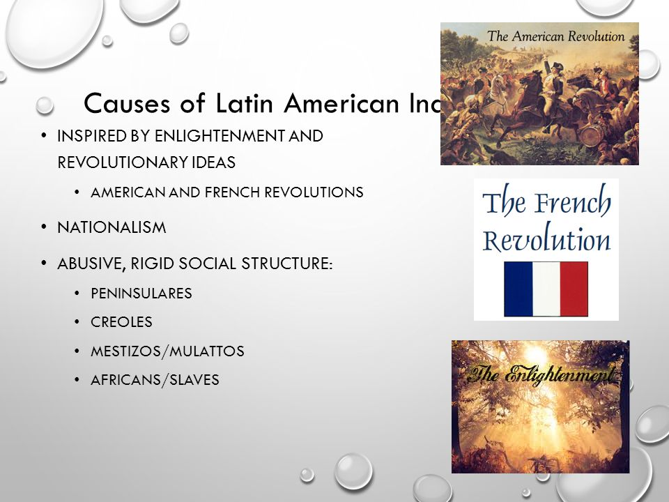 Causes of Latin American Independence
