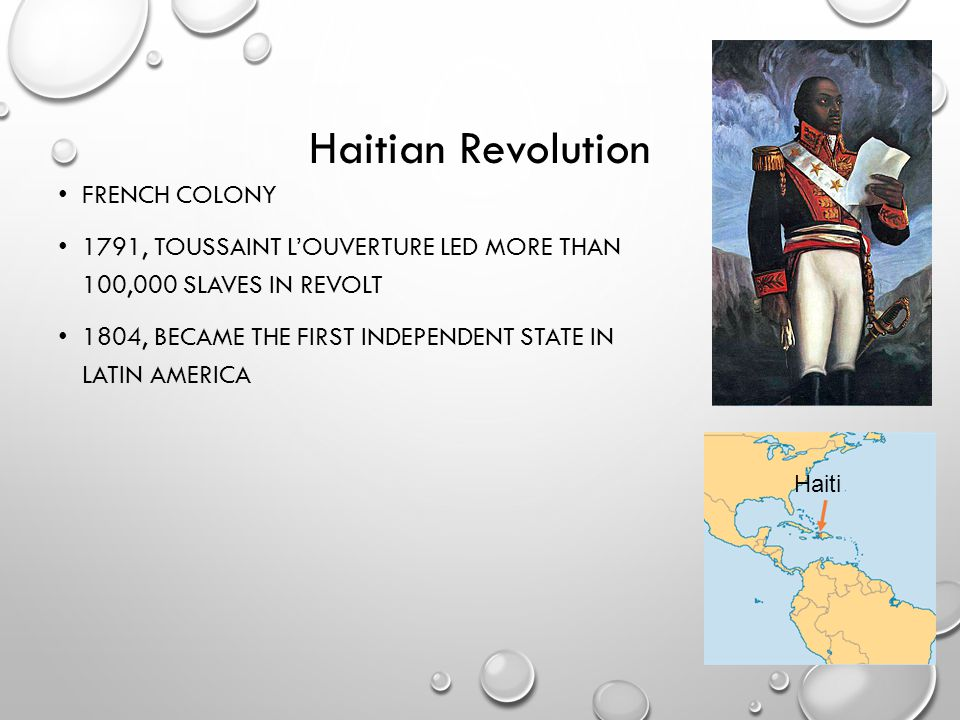 Haitian Revolution French colony