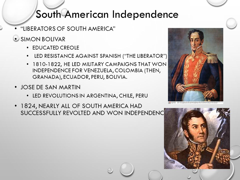 South American Independence