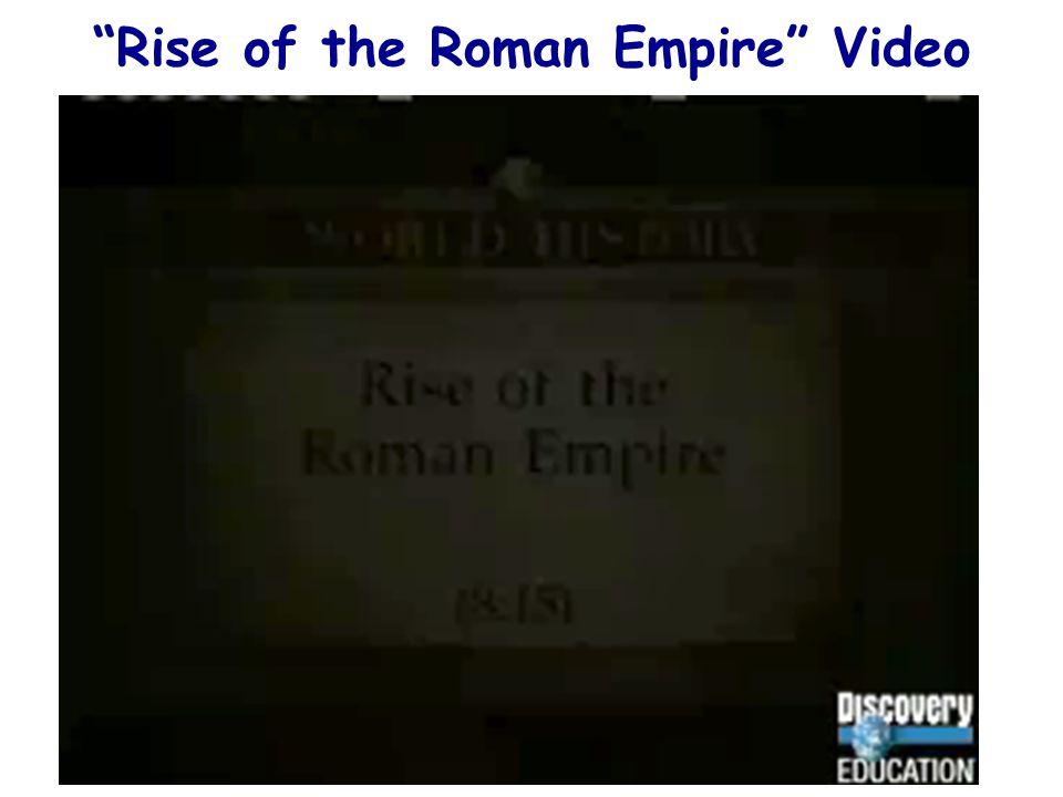 Rise of the Roman Empire Video