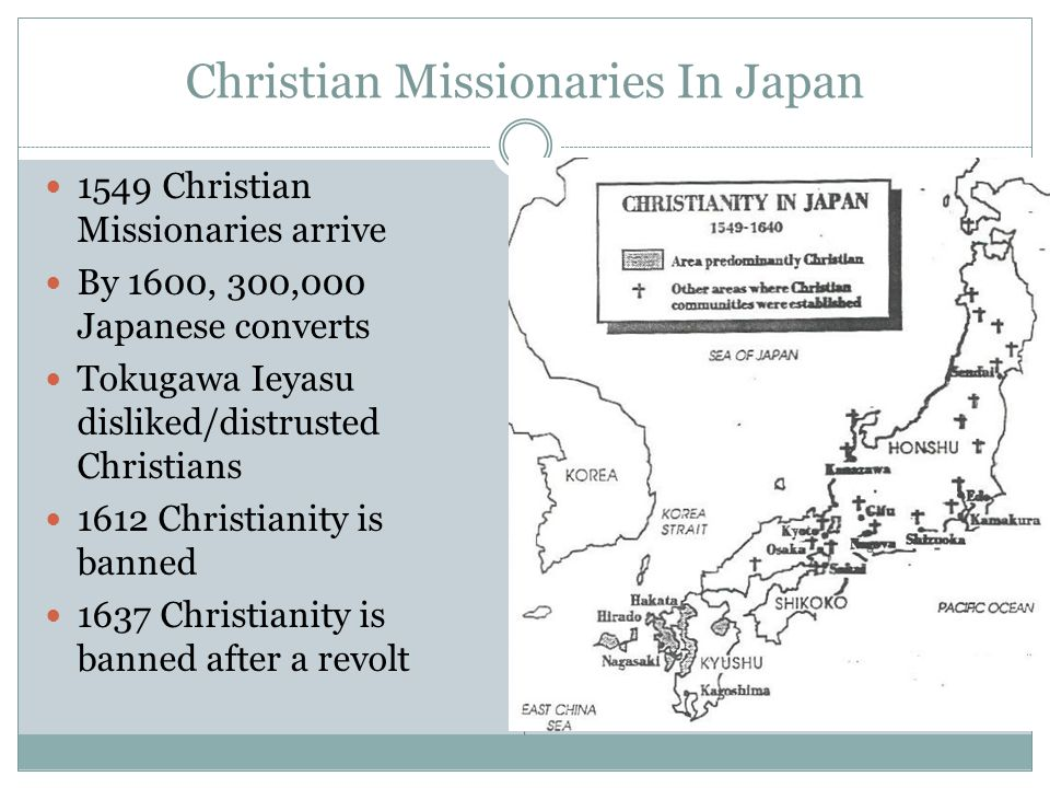 Christian Missionaries In Japan