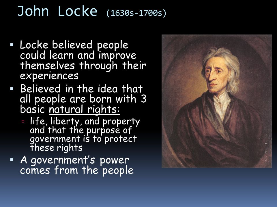 What was John Locke's philosophy on education?