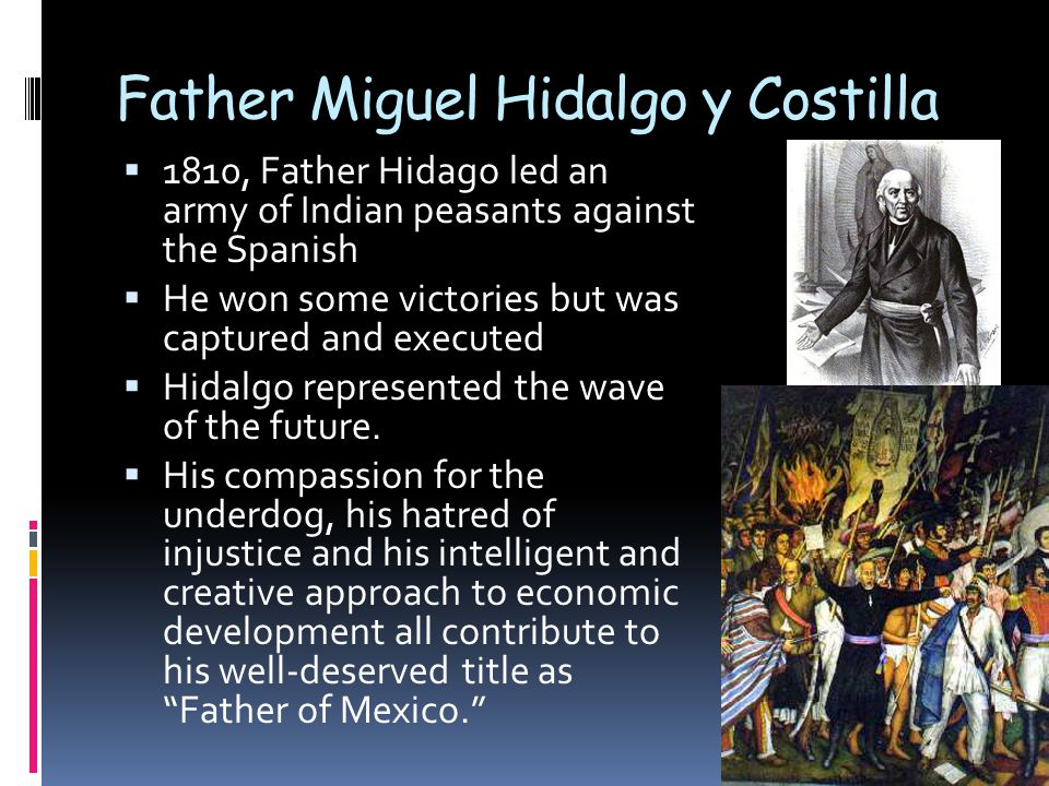 Father Miguel Hidalgo y Costilla