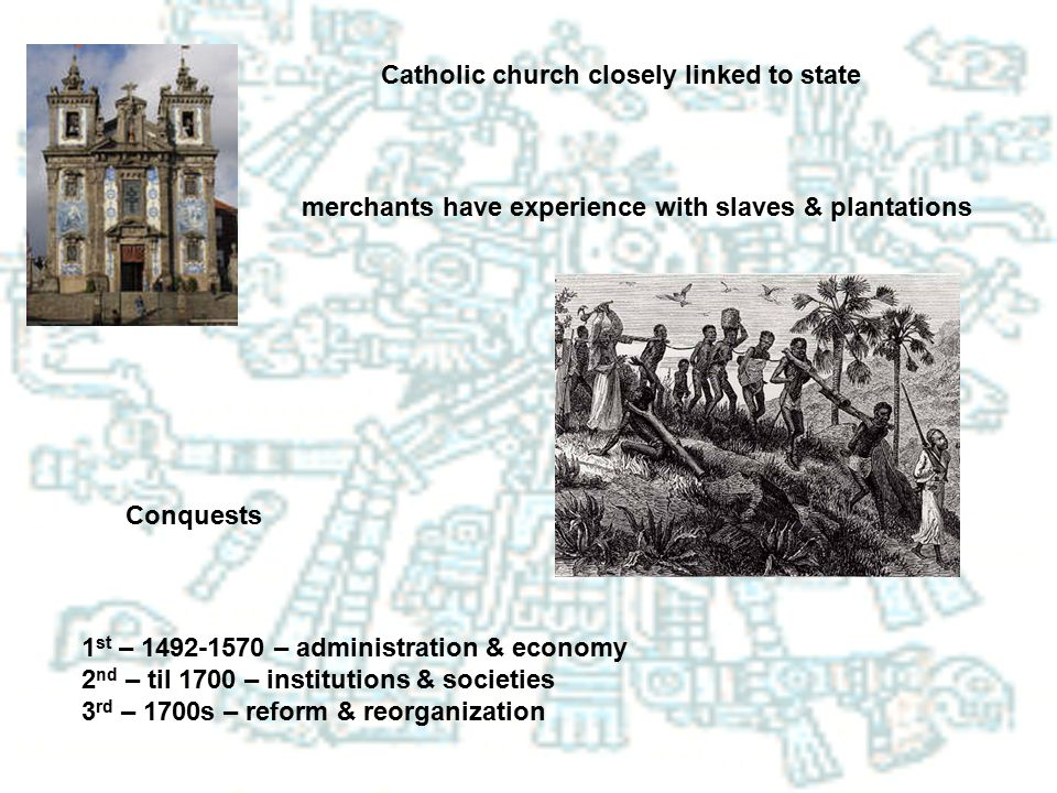 Catholic church closely linked to state