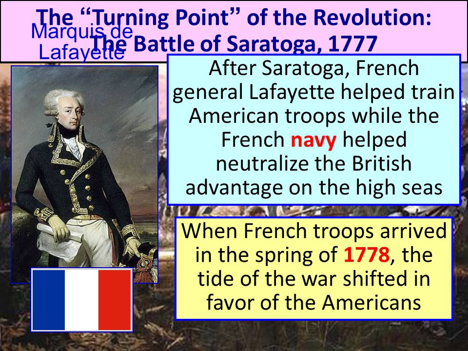 The Turning Point of the Revolution: The Battle of Saratoga, 1777