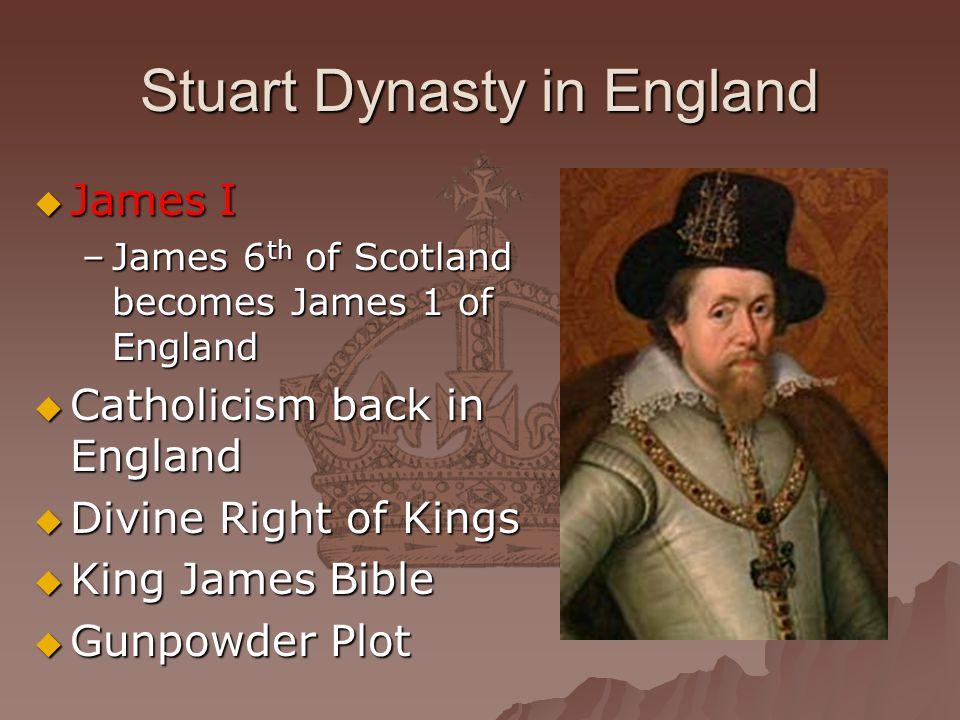 Stuart Dynasty in England