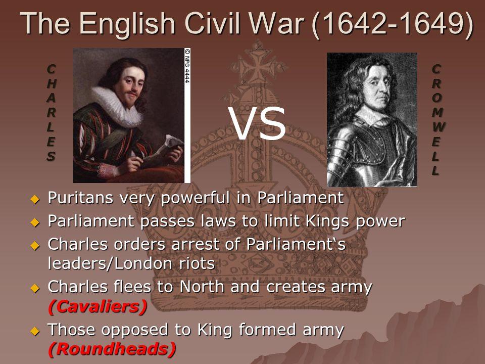 The English Civil War (1642-1649)