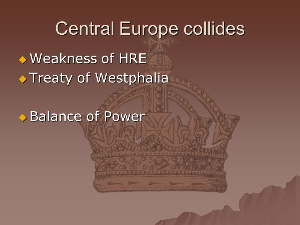 Central Europe collides