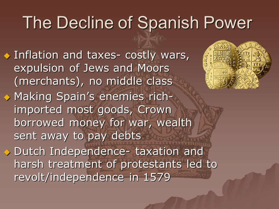 The Decline of Spanish Power