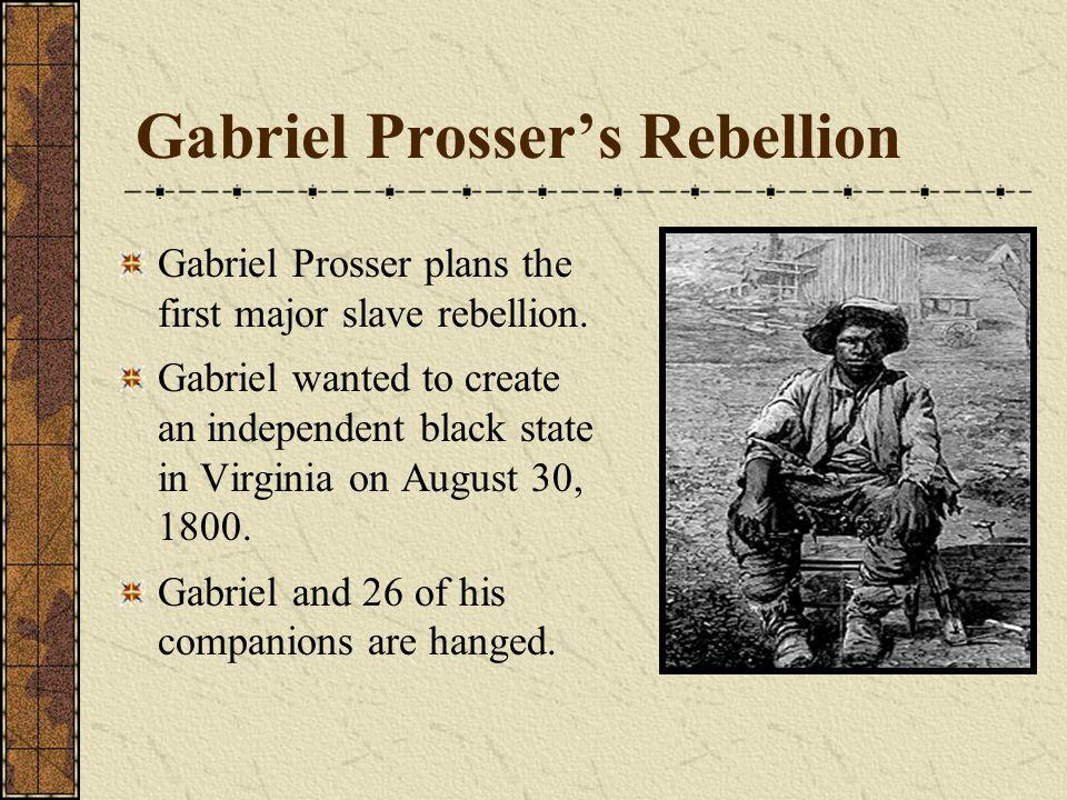 Gabriel Prosser's Rebellion