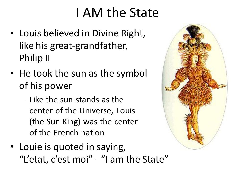 I AM the State